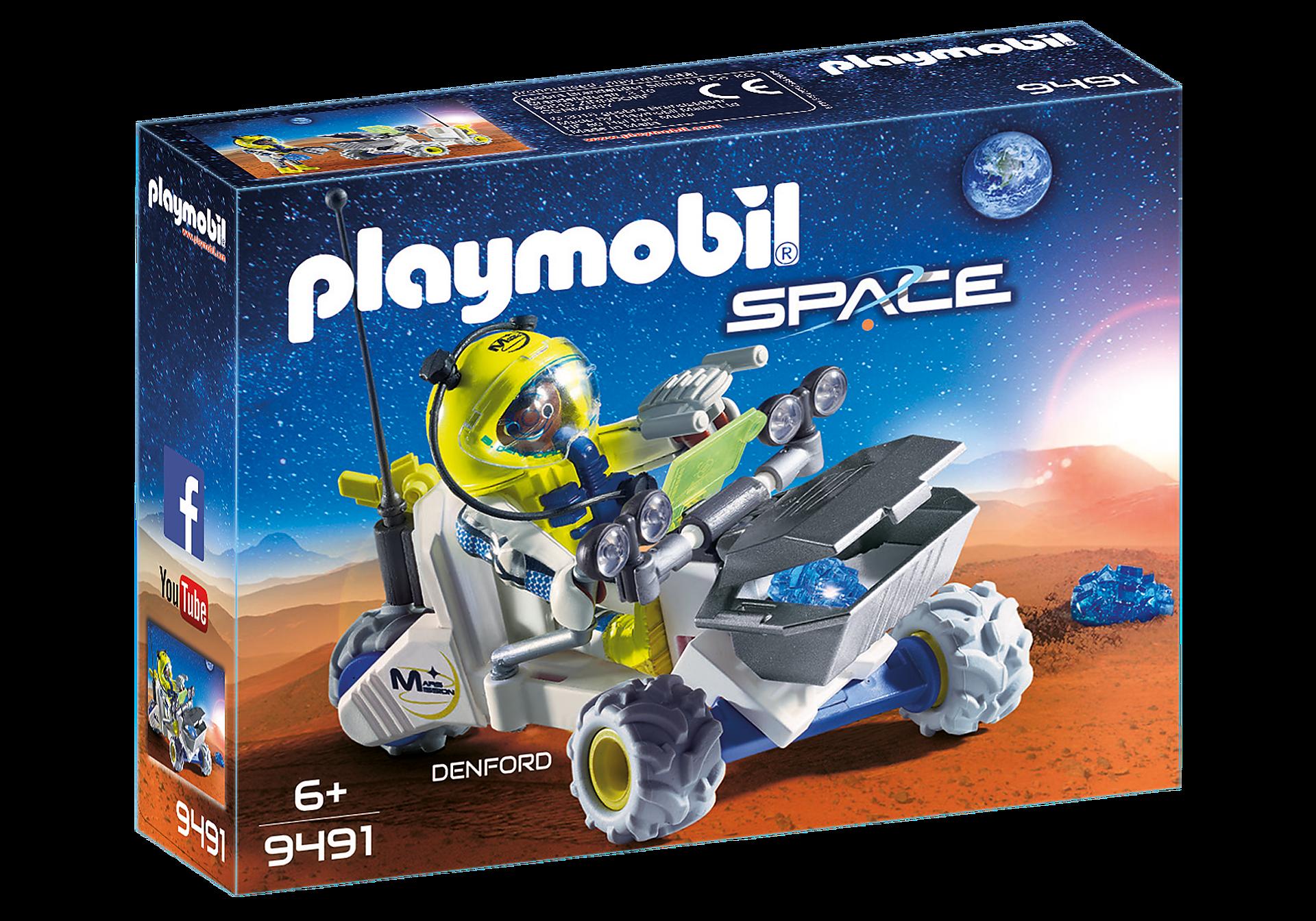 9491 Spationaute avec véhicule d'exploration spatiale  zoom image2