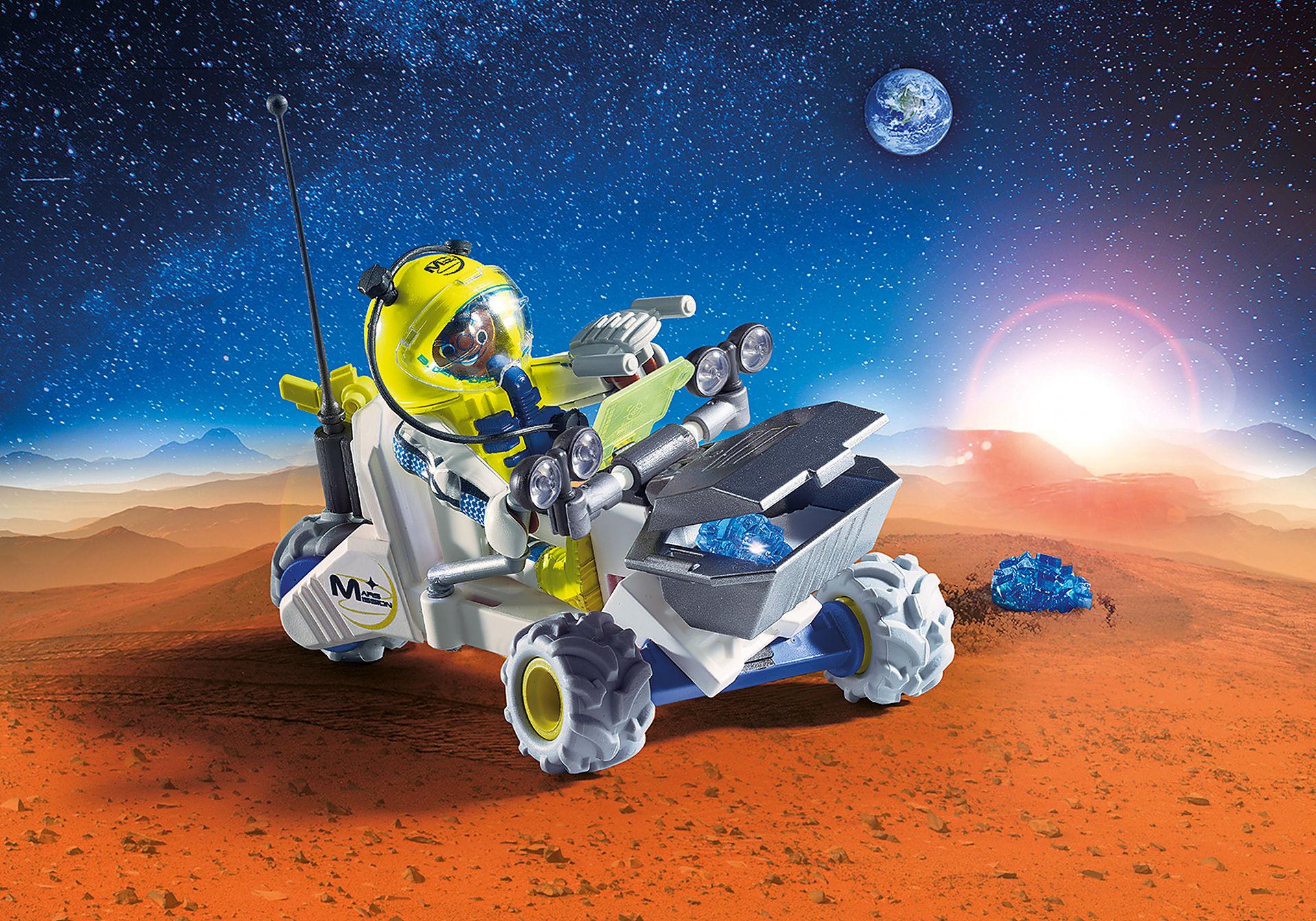 9491 Spationaute avec véhicule d'exploration spatiale  zoom image1