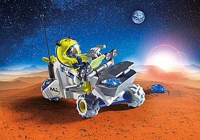 9491 Spationaute avec véhicule d'exploration spatiale
