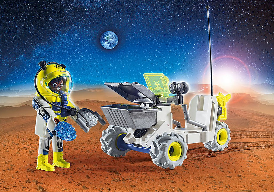 http://media.playmobil.com/i/playmobil/9491_product_extra1/Spationaute avec véhicule d'exploration spatiale