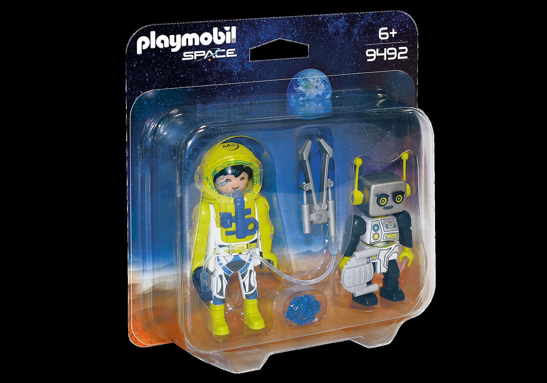 http://media.playmobil.com/i/playmobil/9492_product_box_front/Duo Pack Αστροναύτης και ρομπότ