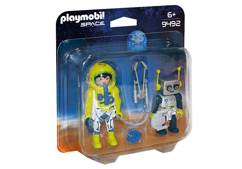 http://media.playmobil.com/i/playmobil/9492_product_box_front/PLAYMOBIL Duo Spationaute et robot
