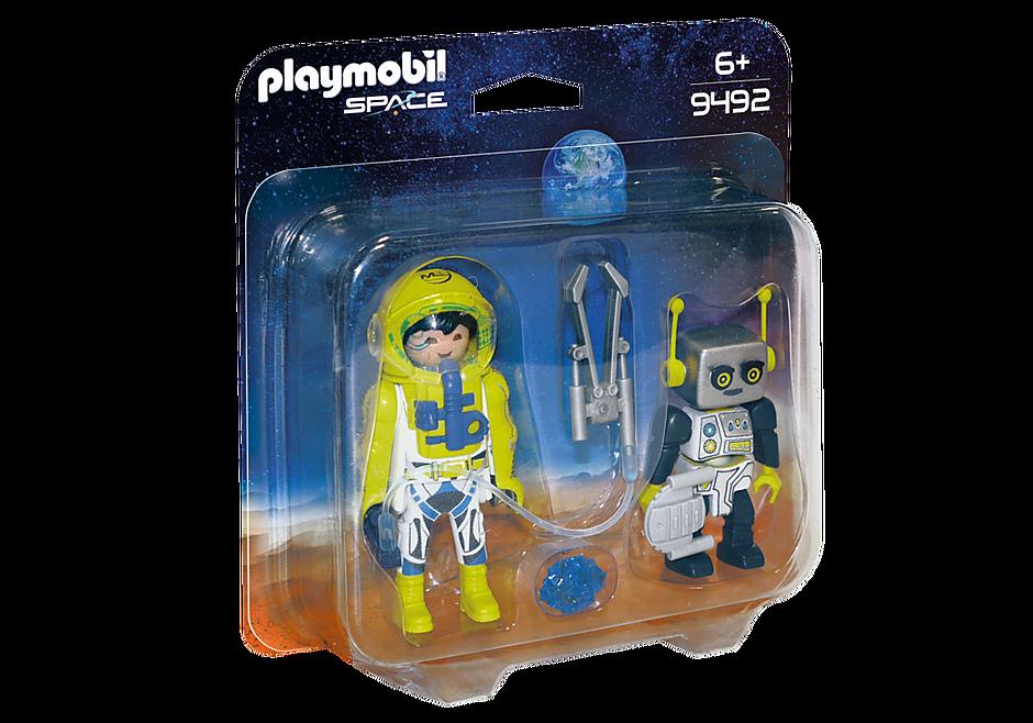 9492 PLAYMOBIL Duo Spationaute et robot  detail image 2