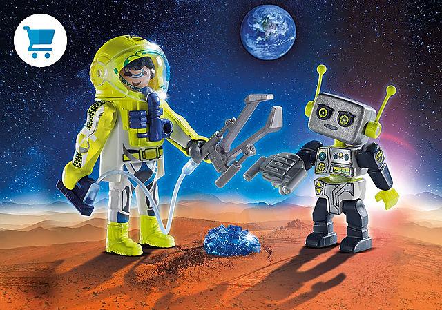 9492_product_detail/PLAYMOBIL Duo Spationaute et robot