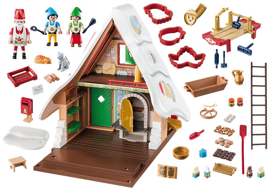 9493 Christmas Bakery with Cookie Cutters detail image 4