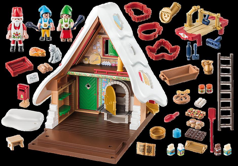 9493 Forno di Babbo Natale con stampi per biscotti detail image 4