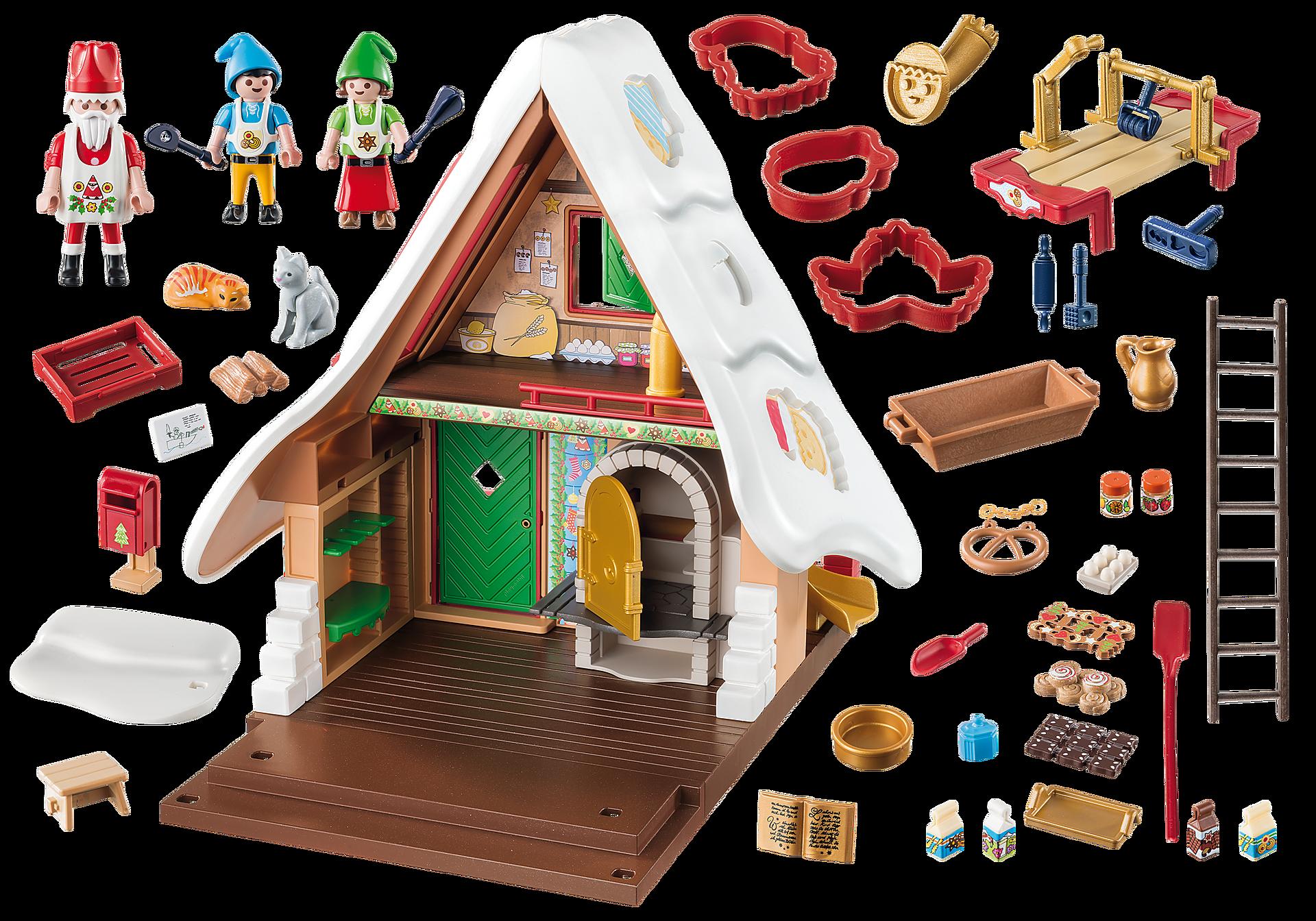 9493 Forno di Babbo Natale con stampi per biscotti zoom image4