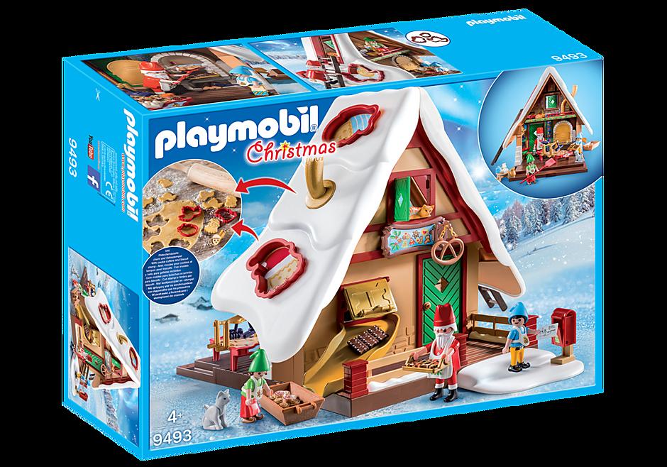 9493 Atelier de biscuit du Père Noël avec moules detail image 3