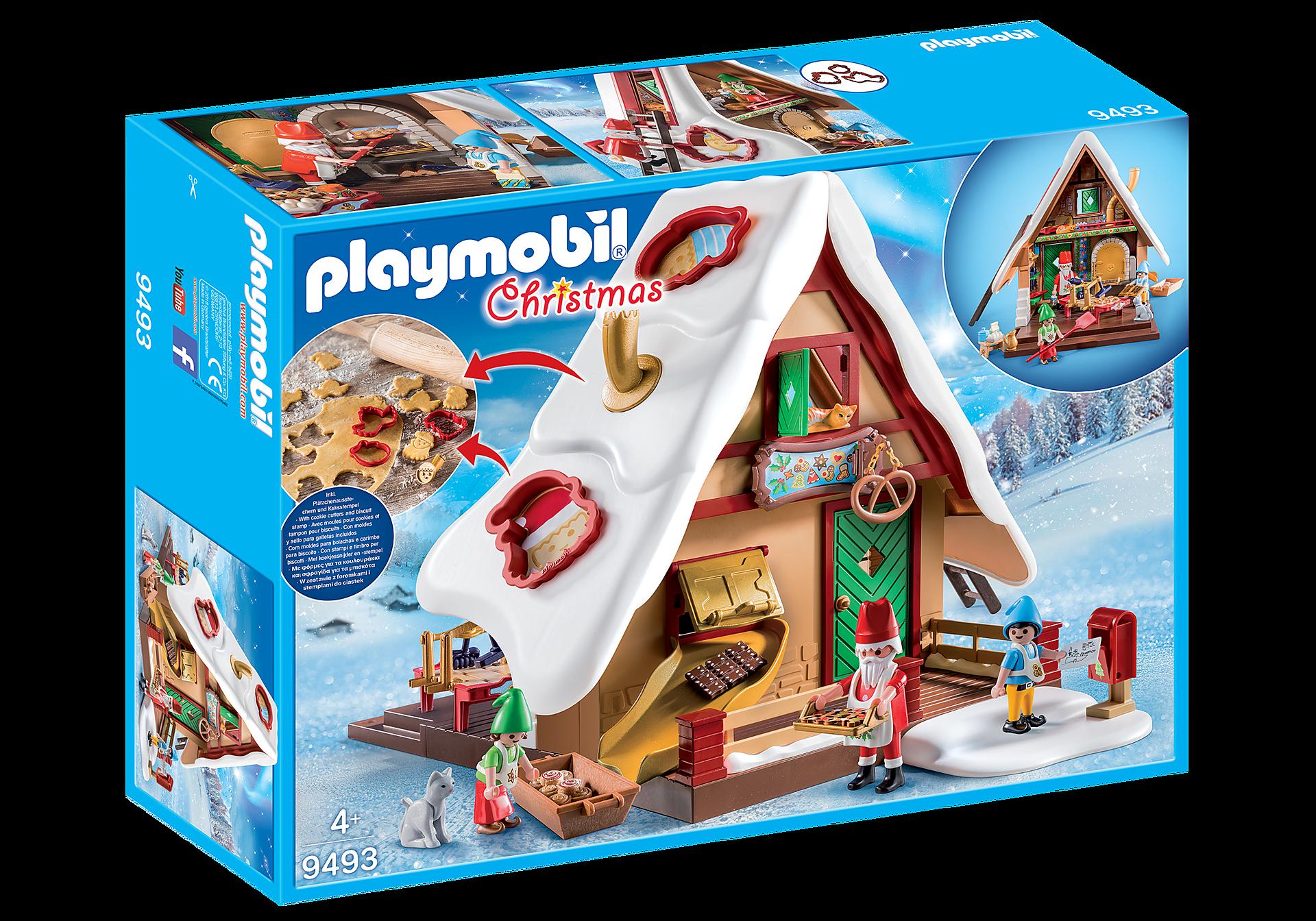 9493 Atelier de biscuit du Père Noël avec moules zoom image3
