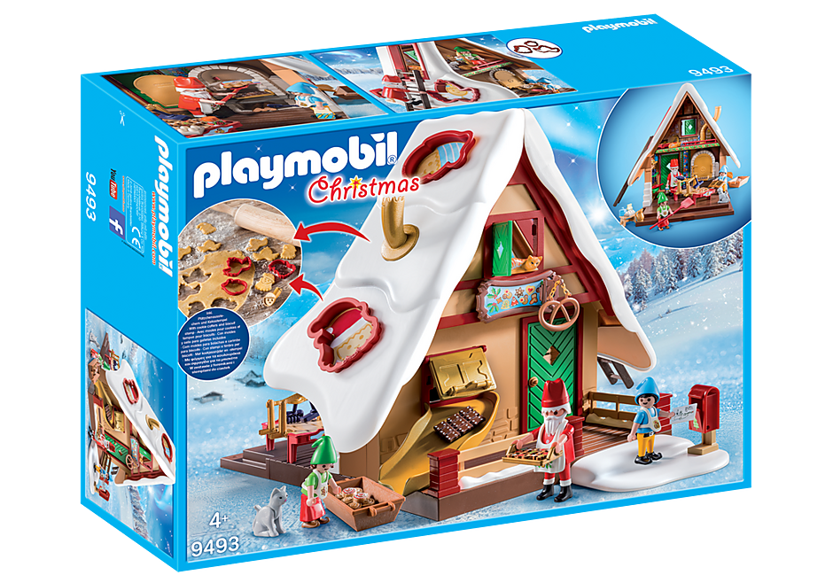 9493 Christmas Bakery with Cookie Cutters detail image 3