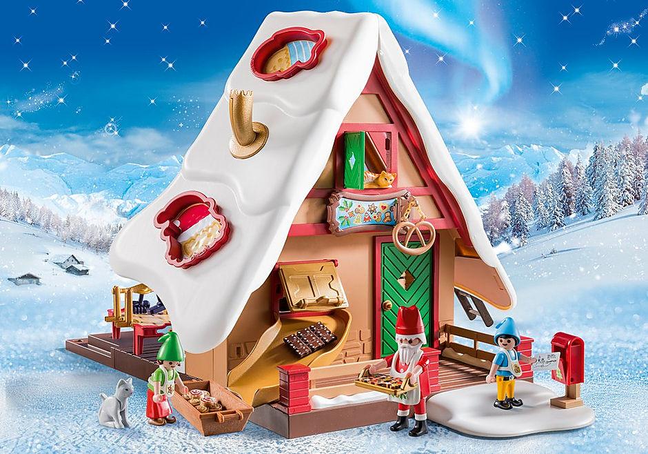 9493 Atelier de biscuit du Père Noël avec moules detail image 1