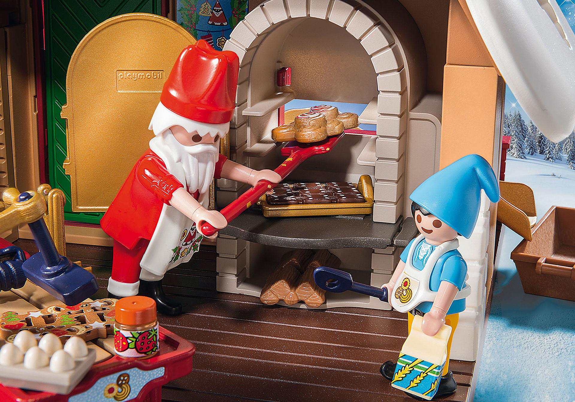 9493 Forno di Babbo Natale con stampi per biscotti zoom image5