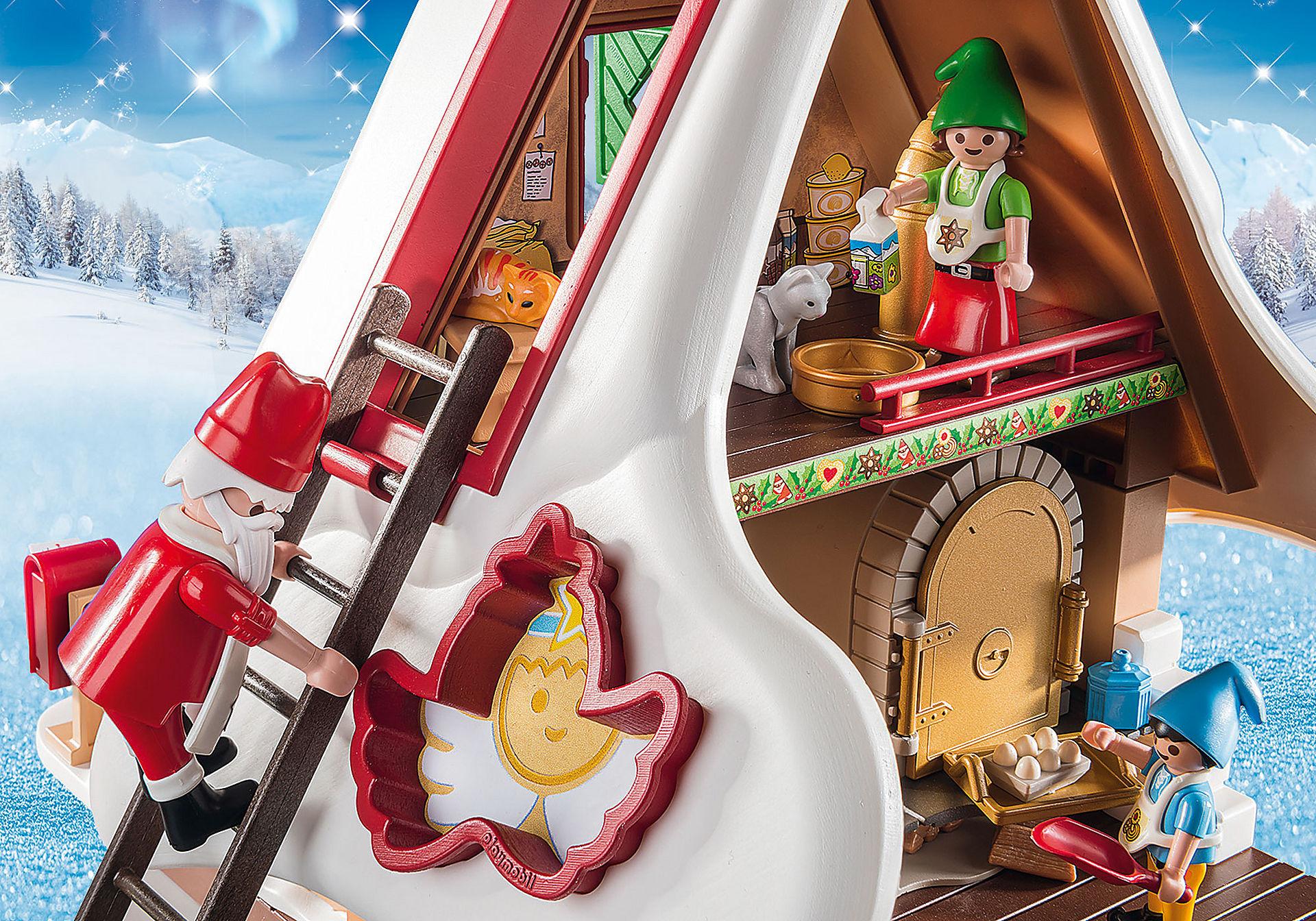 9493 Forno di Babbo Natale con stampi per biscotti zoom image6