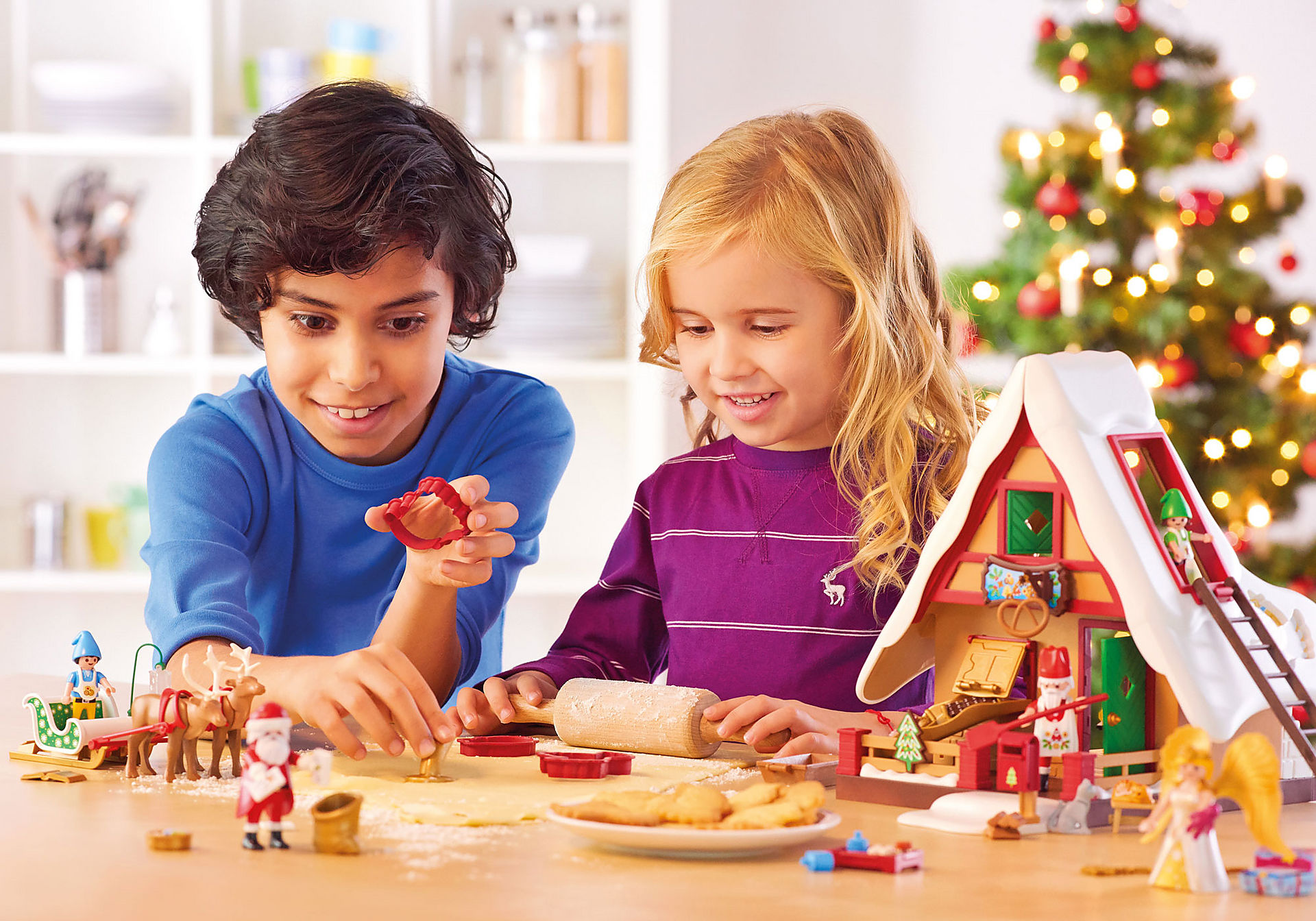 9493 Forno di Babbo Natale con stampi per biscotti zoom image8