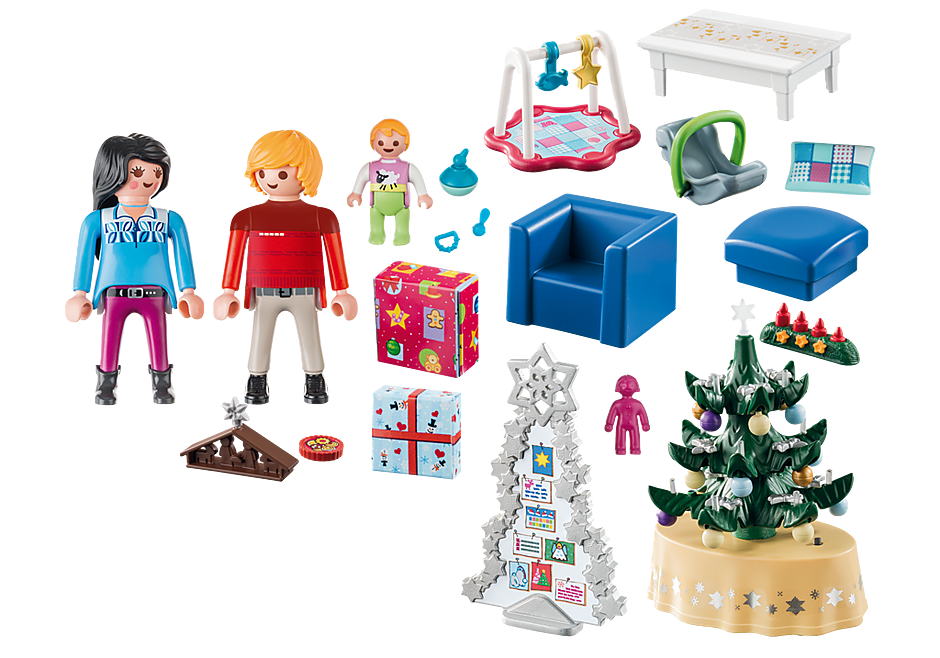 http://media.playmobil.com/i/playmobil/9495_product_box_back/Woonkamer in kerststijl