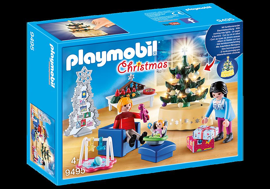 http://media.playmobil.com/i/playmobil/9495_product_box_front/Salon w świątecznym wystroju