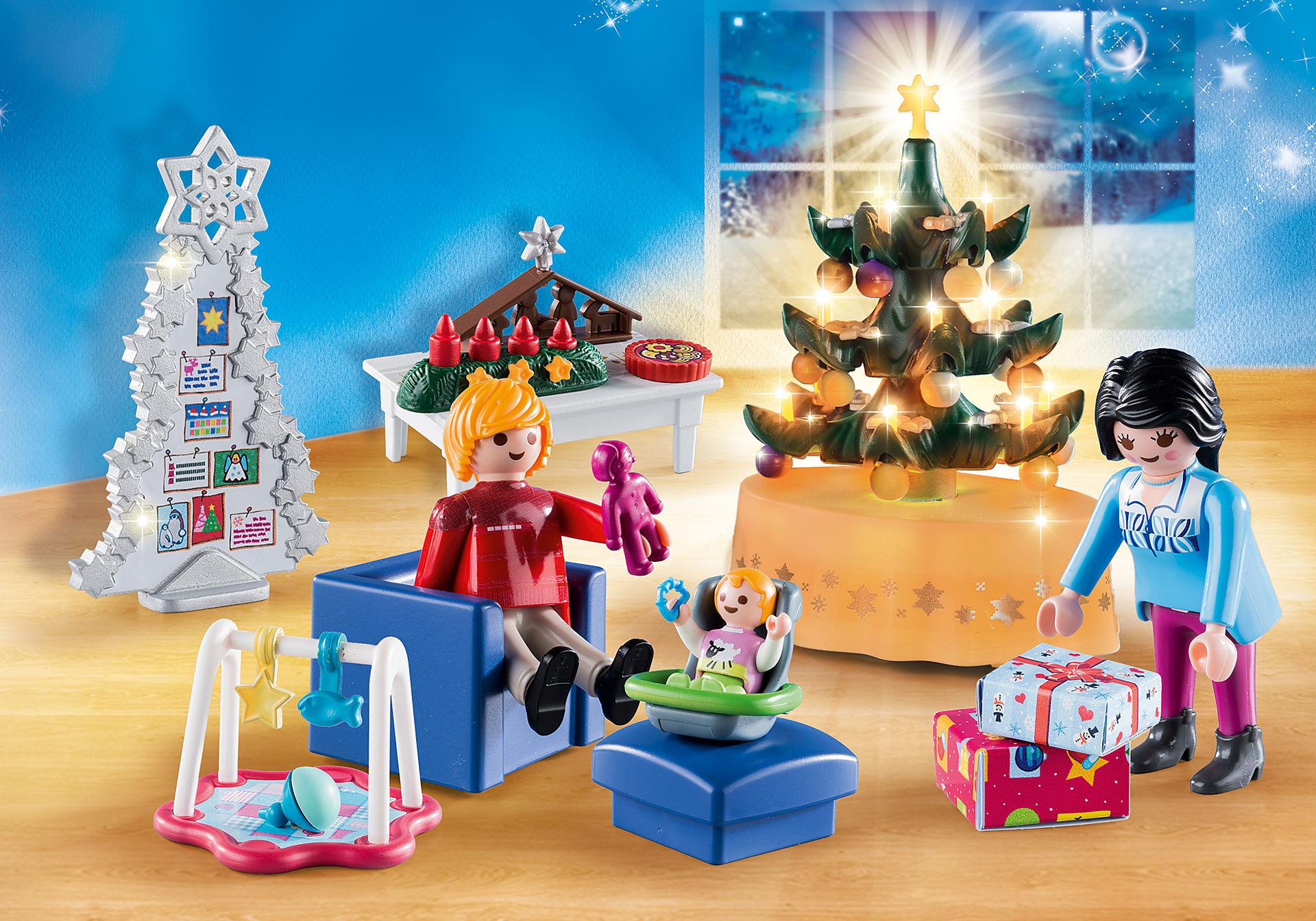 9495 Weihnachtliches Wohnzimmer zoom image1