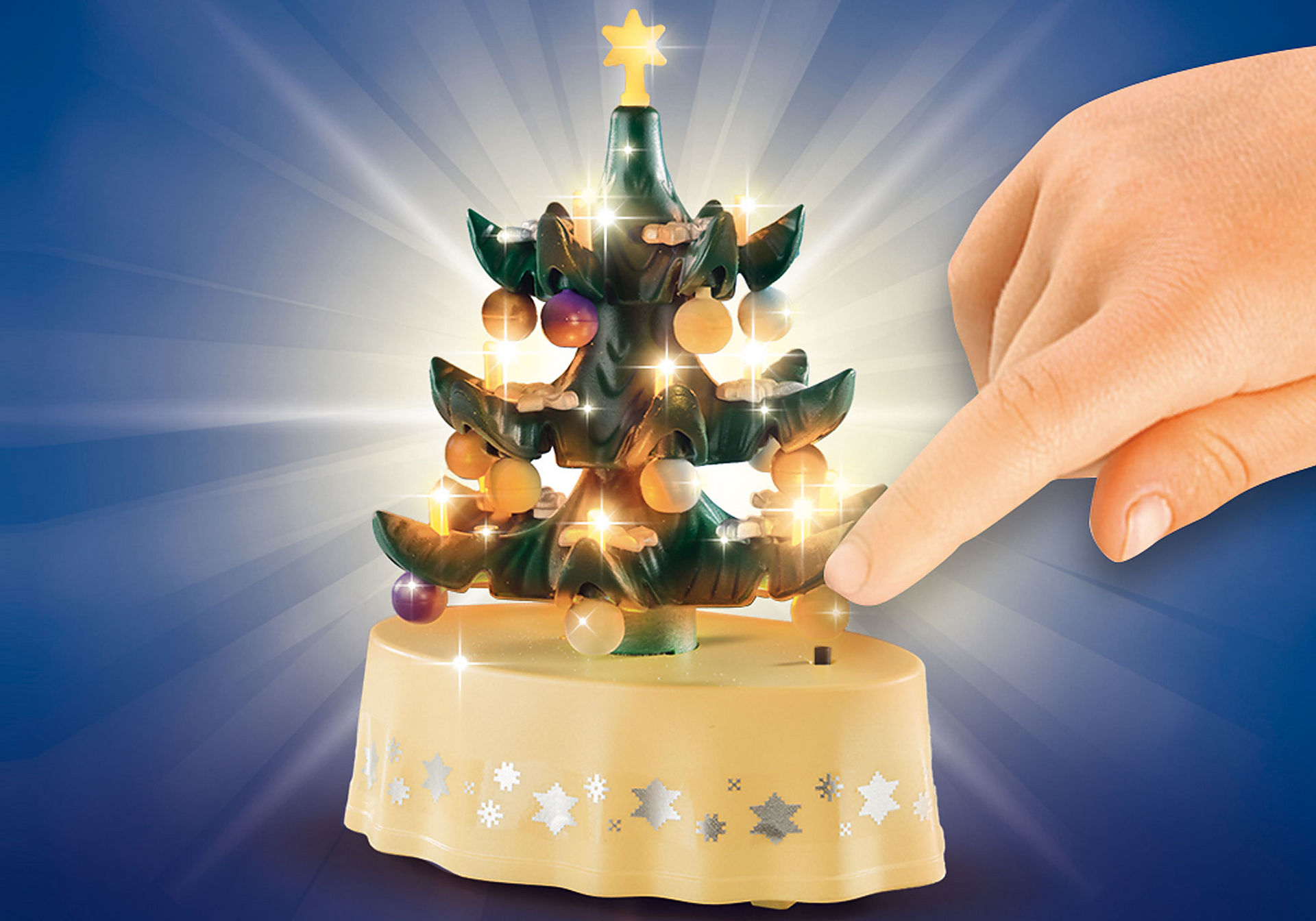 Playmobil Weihnachtsbaum.Weihnachtliches Wohnzimmer 9495 Playmobil österreich