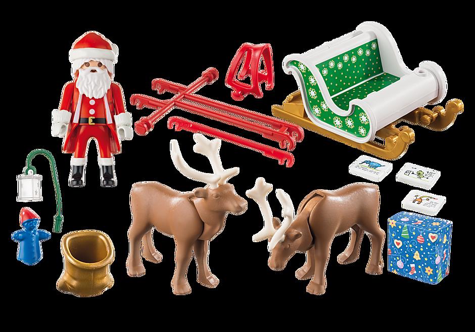 http://media.playmobil.com/i/playmobil/9496_product_box_back/Sanie świętego Mikołaja z reniferami