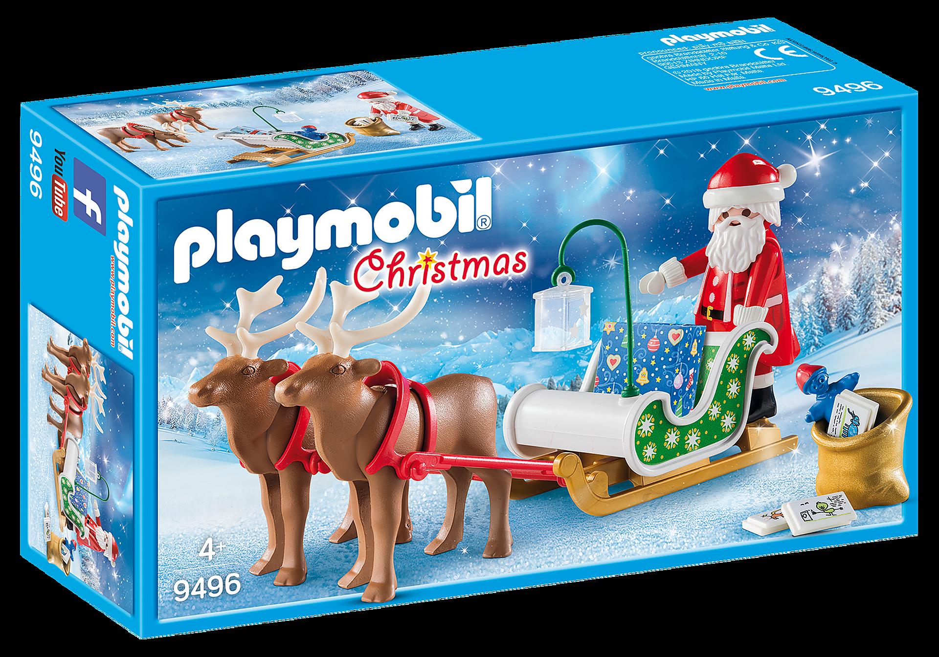 9496 Santa's Sleigh with Reindeer zoom image2