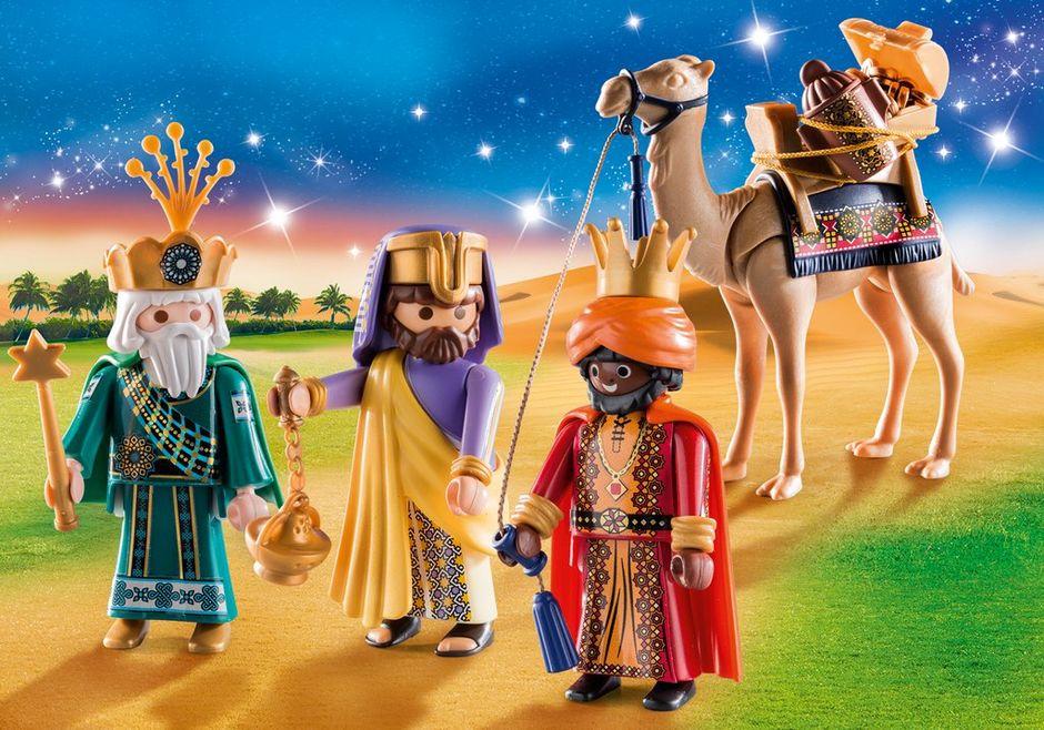 Playmobil Weihnachtskrippe.Playmobil Spielzeug Playmobil Christmas 2er Set 9494 9497