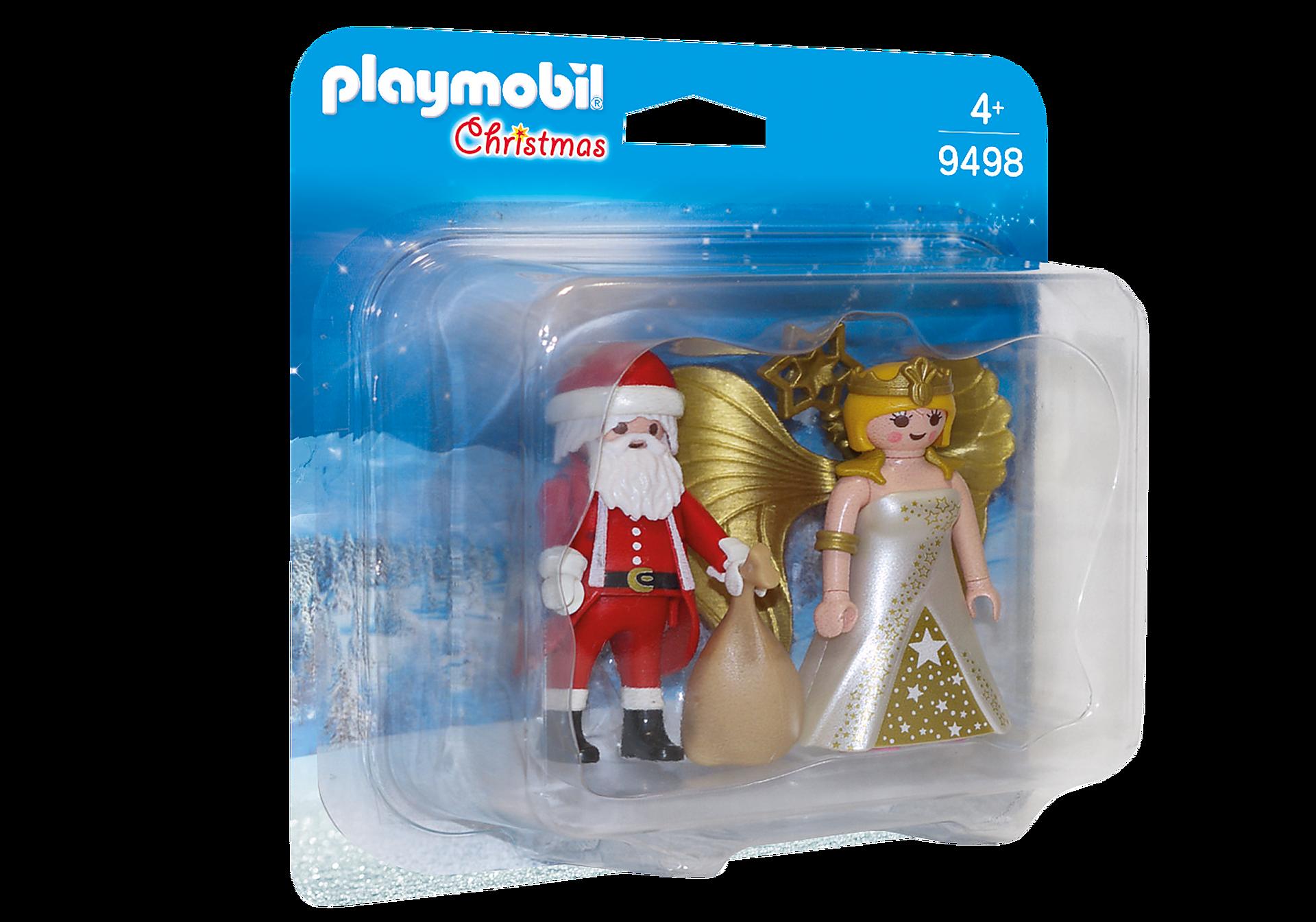 9498 DuoPack Kerstman en kerstengel zoom image2