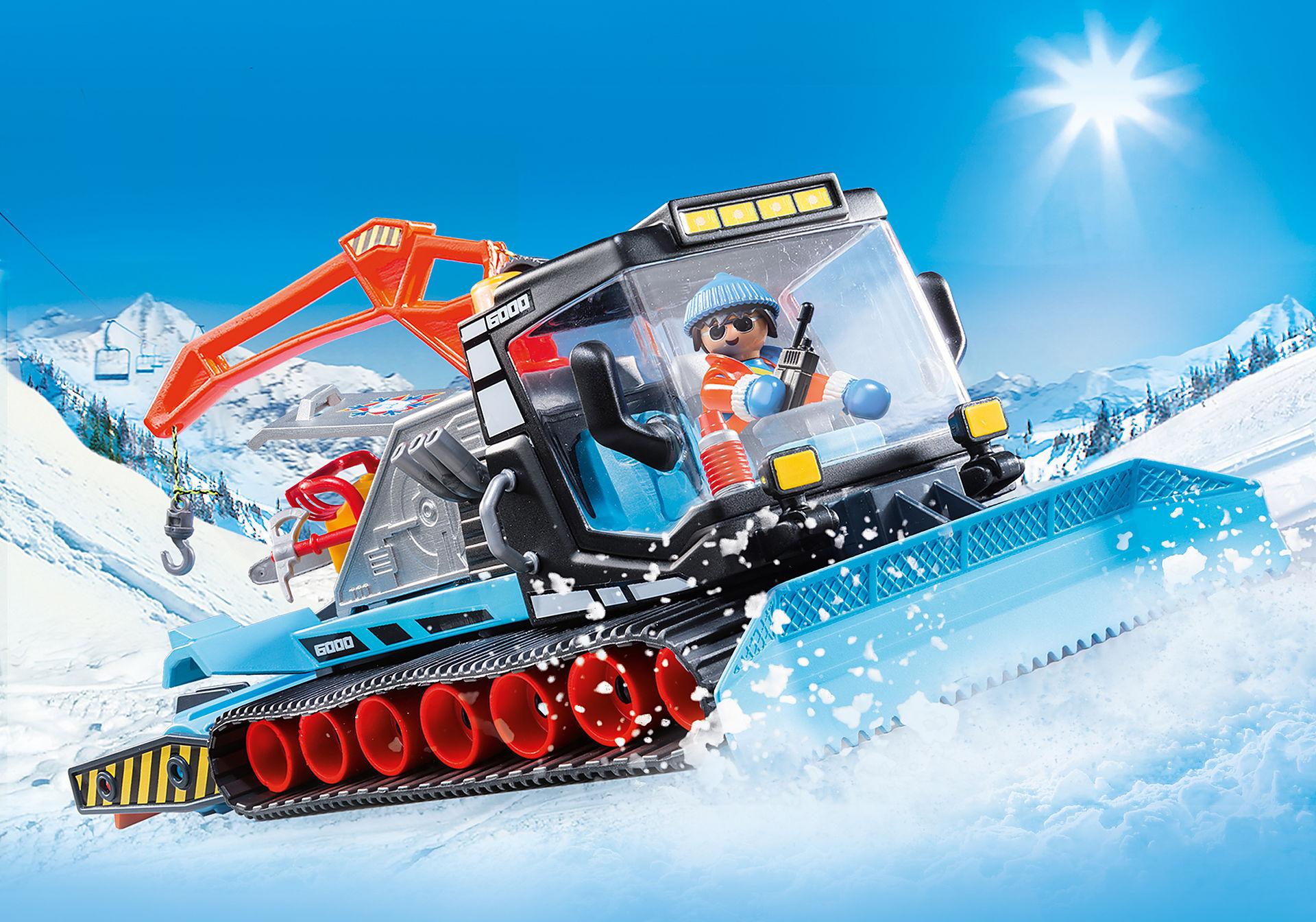 9500 Agent avec chasse-neige  zoom image1