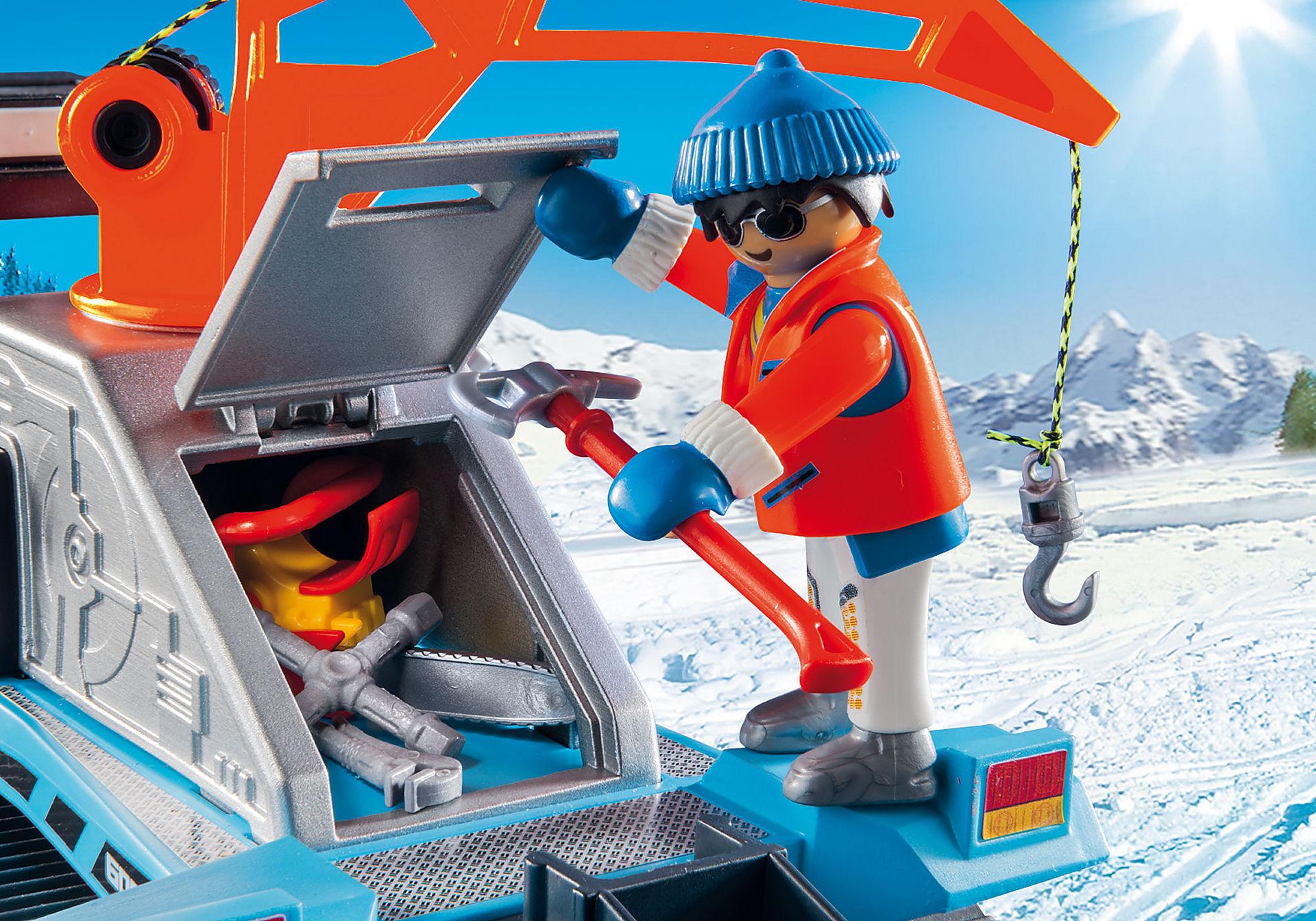 http://media.playmobil.com/i/playmobil/9500_product_extra1/Όχημα χιονιού με ερπύστριες