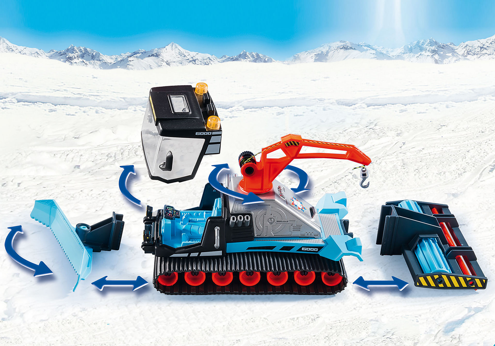 http://media.playmobil.com/i/playmobil/9500_product_extra2/Όχημα χιονιού με ερπύστριες