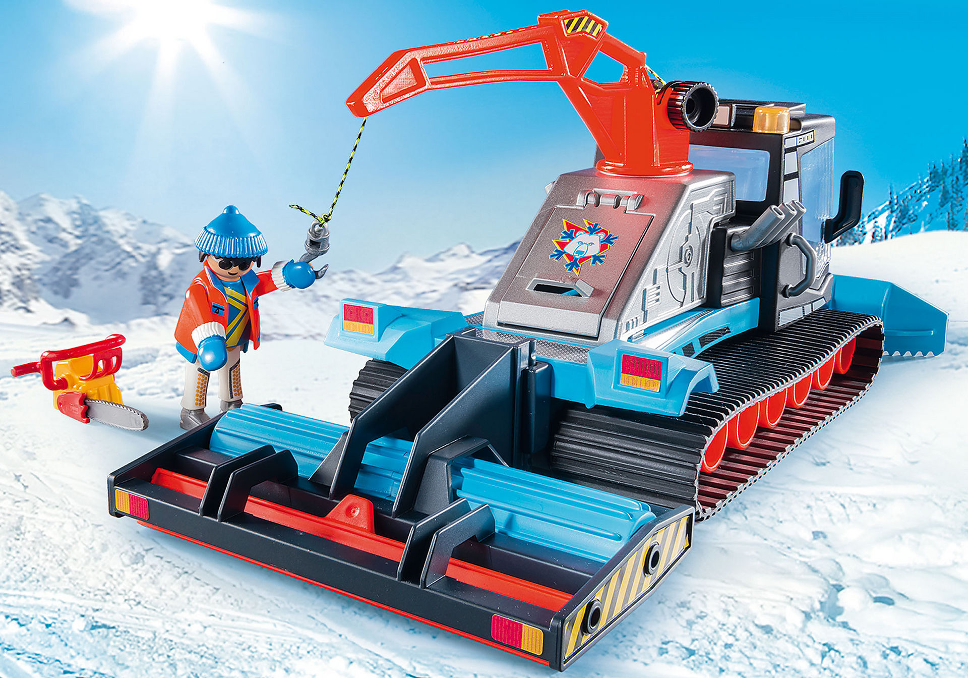 http://media.playmobil.com/i/playmobil/9500_product_extra3/Όχημα χιονιού με ερπύστριες