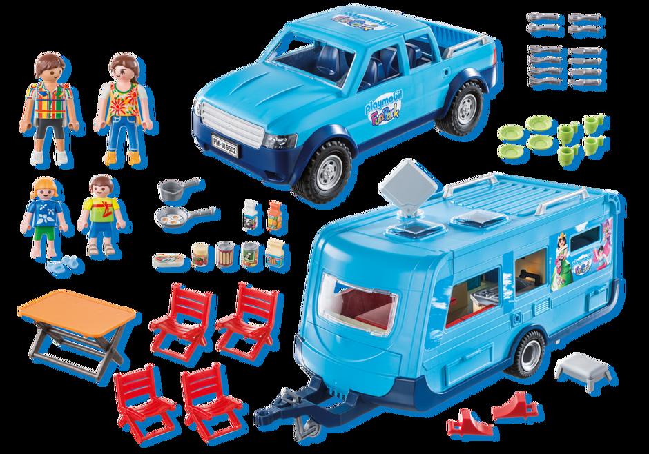 pièce détaché véhicule BLANC Playmobil  ref 31