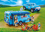 9502 PLAYMOBIL-FunPark Pickup with Camper