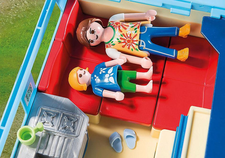 9502 PLAYMOBIL-FunPark Pick-Up mit Wohnwagen detail image 6