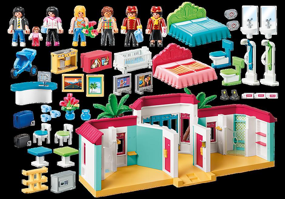 9539 Playmobil Inn detail image 3