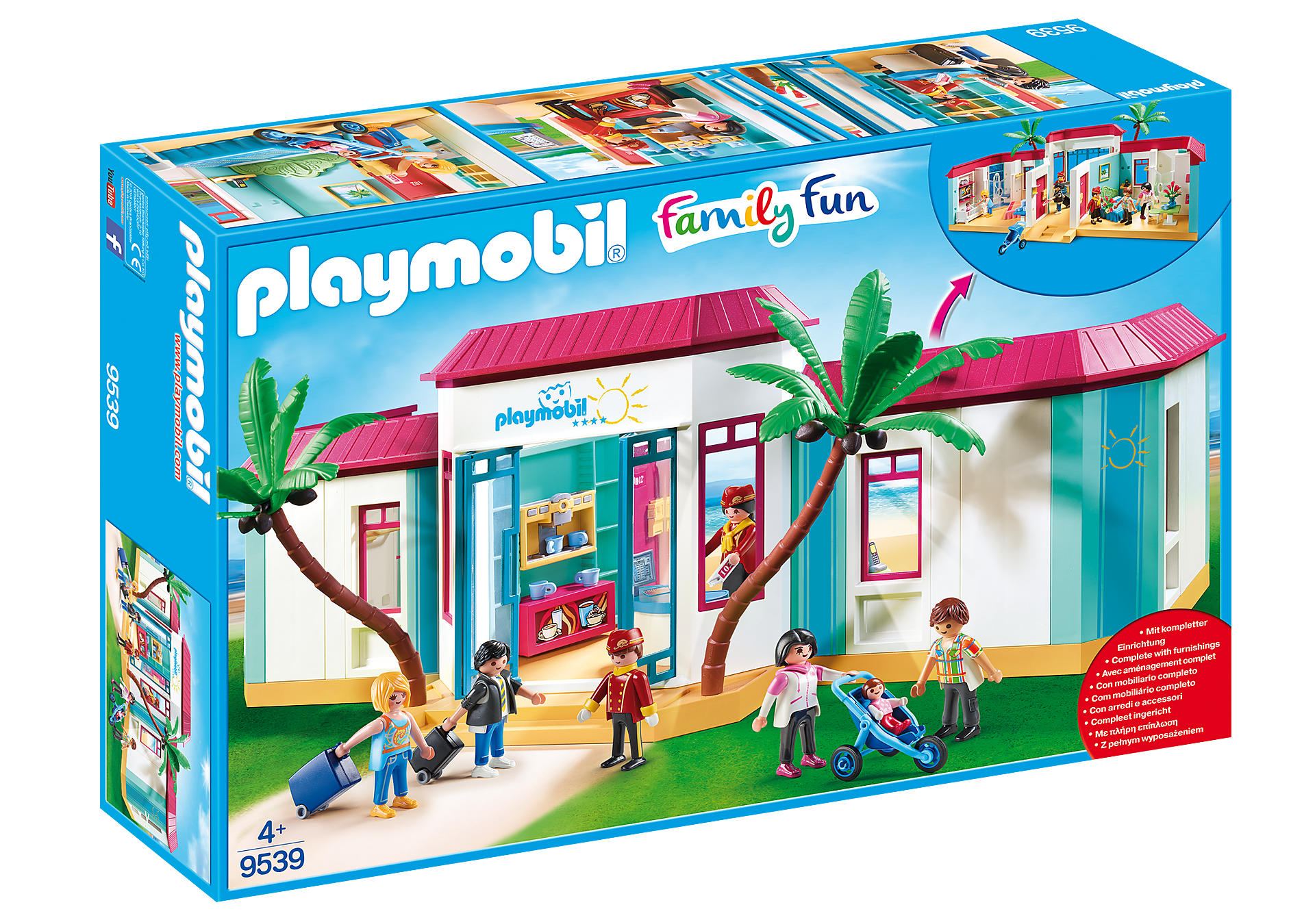 9539 Motel PLAYMOBIL  zoom image2