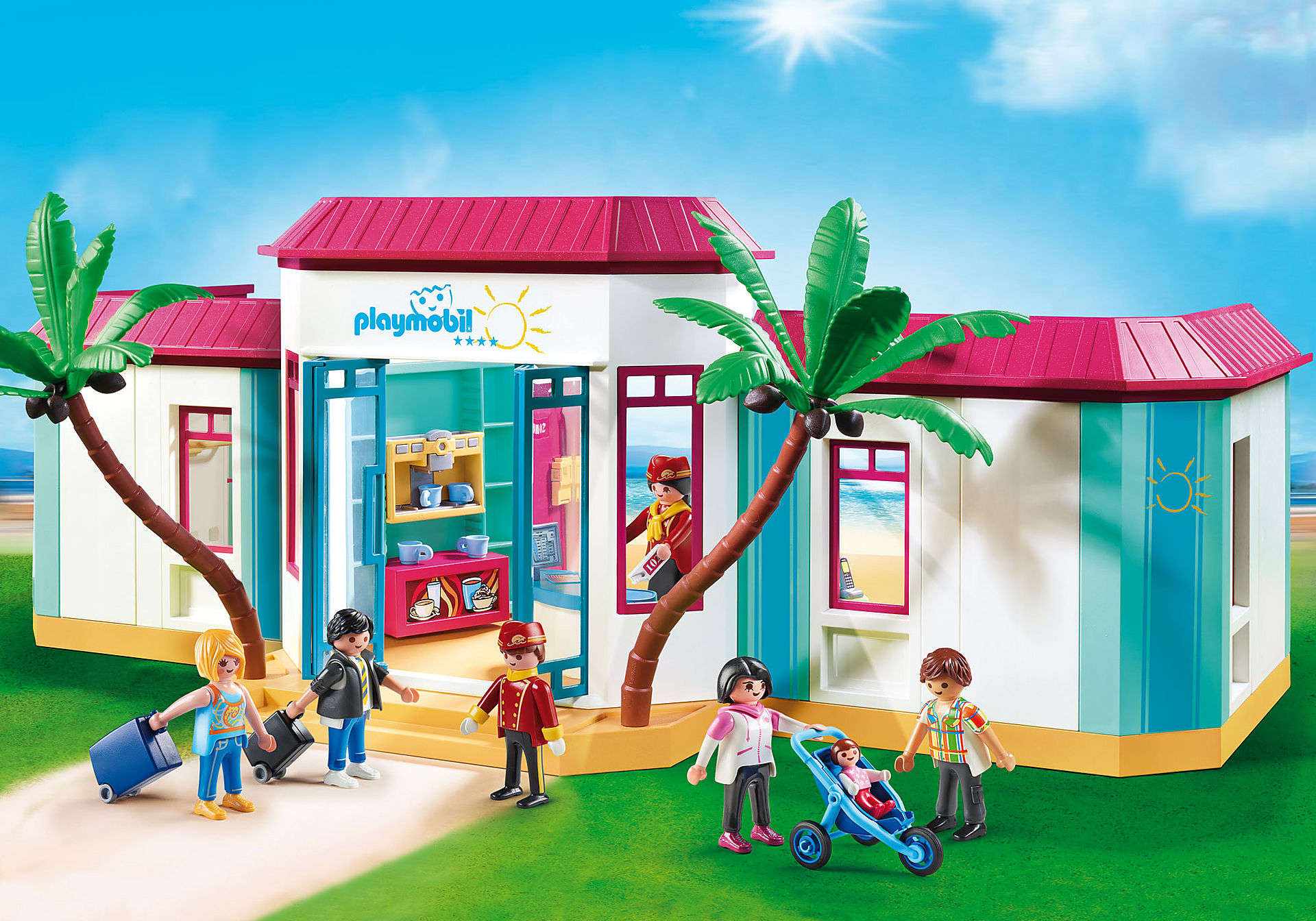 9539 Motel PLAYMOBIL  zoom image1