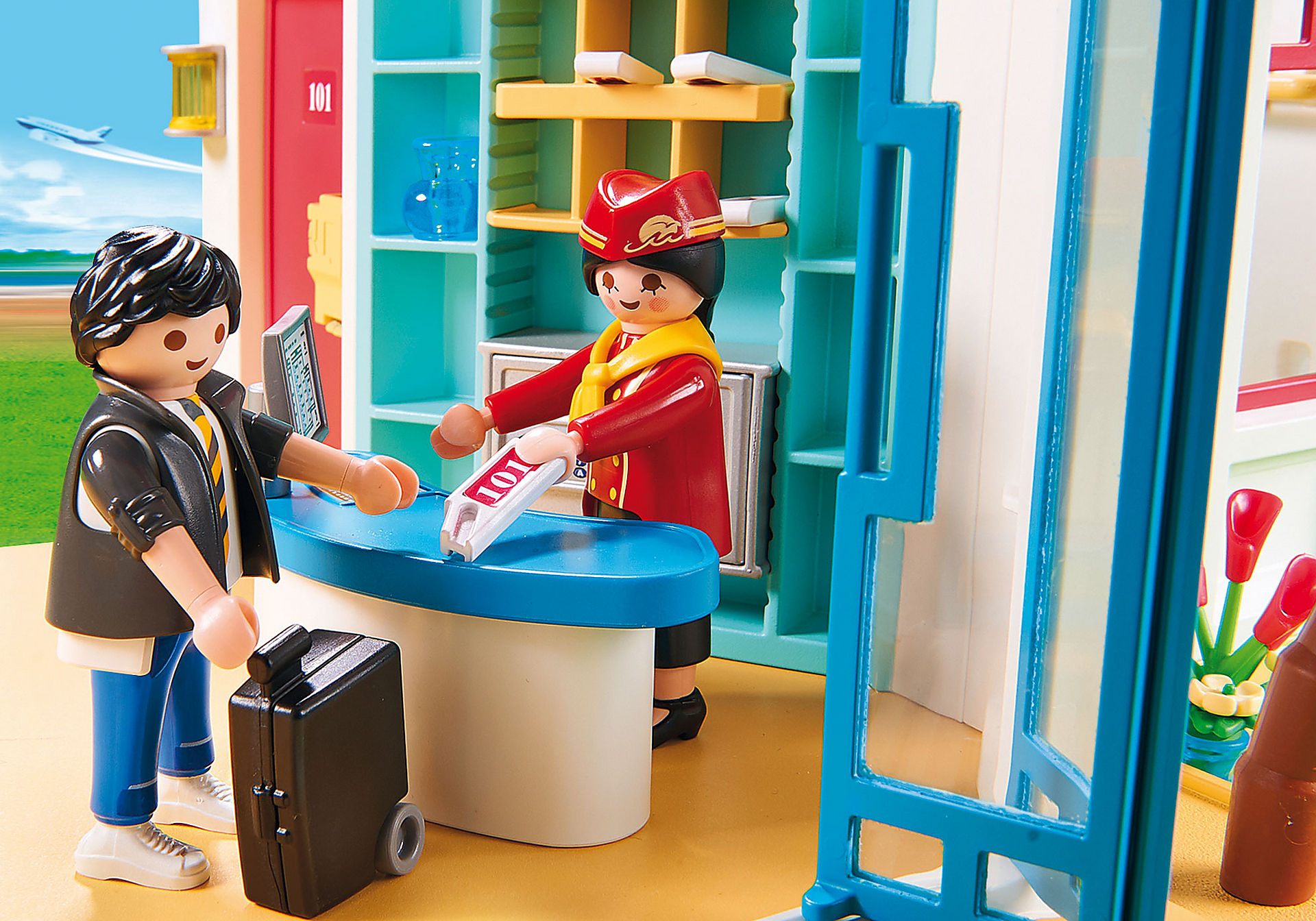 9539 Motel PLAYMOBIL  zoom image4