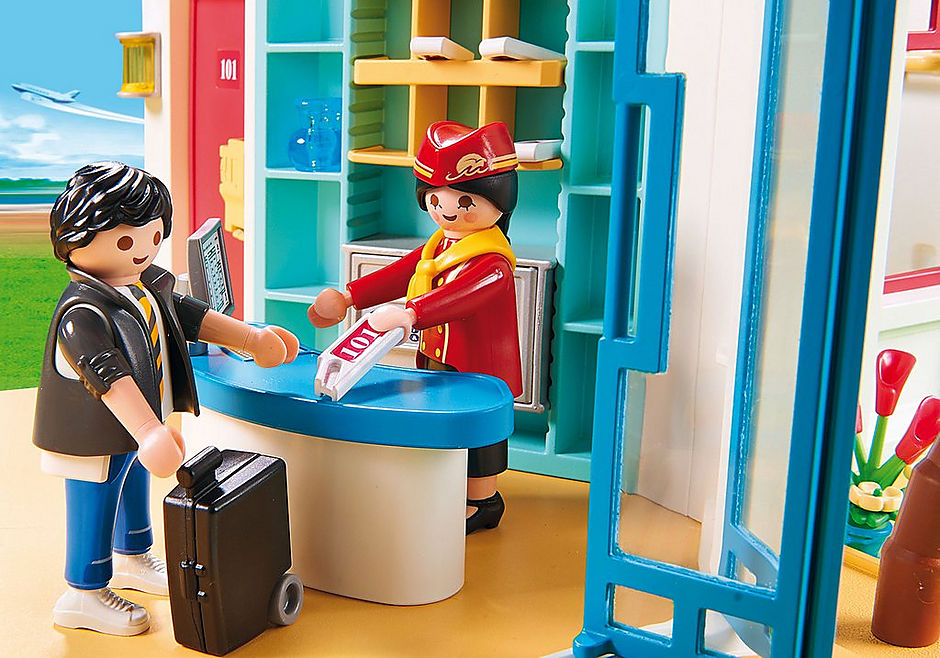 9539 Playmobil Inn detail image 4