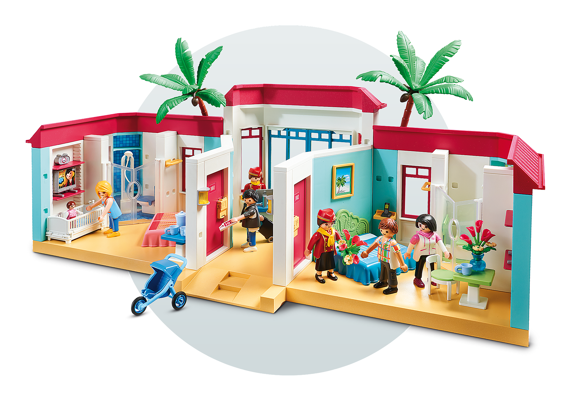 9539 Motel PLAYMOBIL  zoom image8