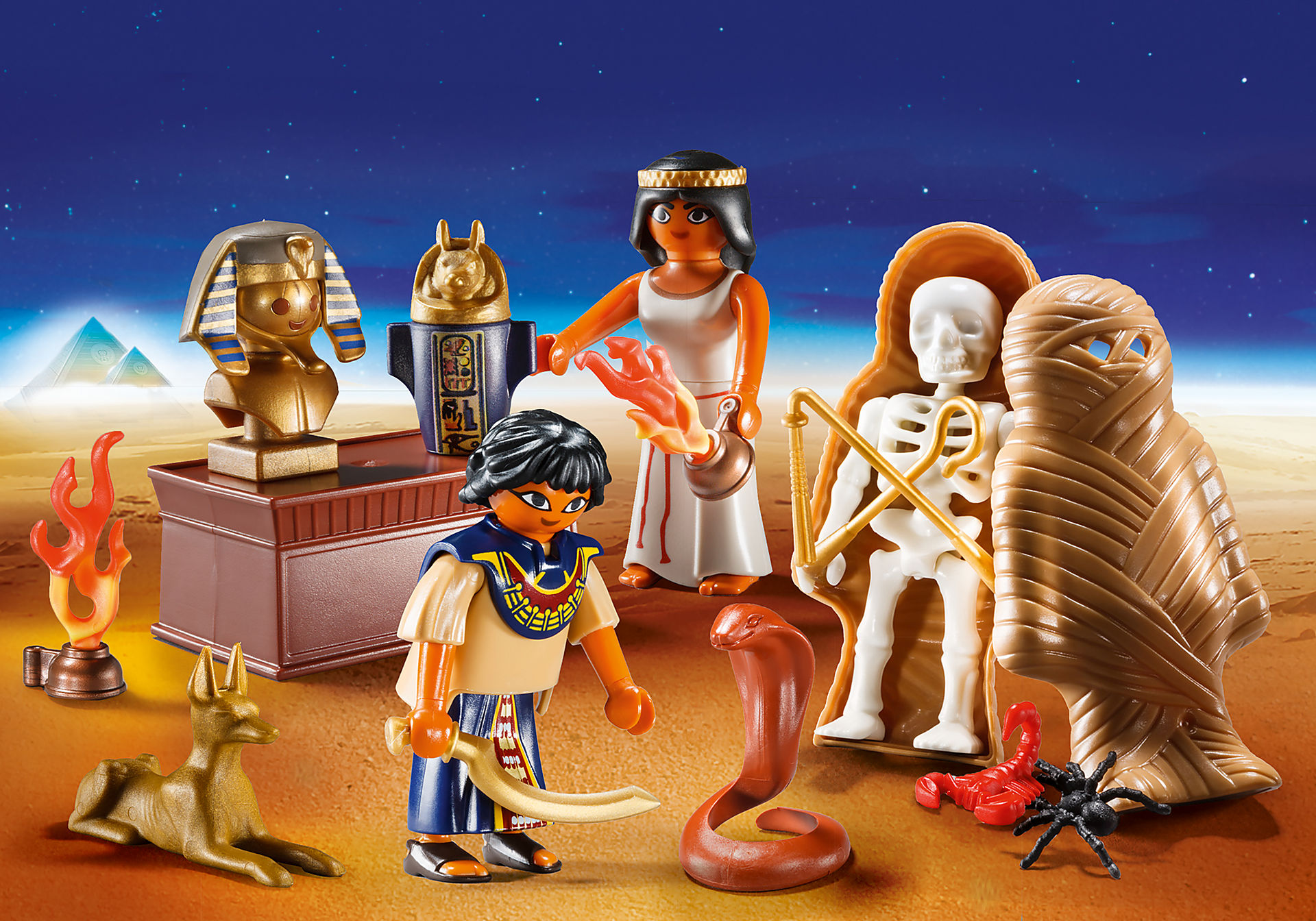 9542 Egyptian Treasure Carry Case zoom image1