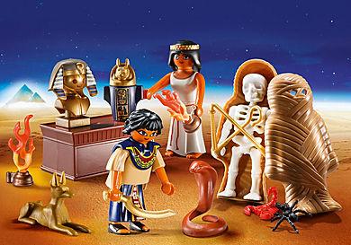 9542 Egyptian Treasure Carry Case