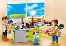 Playmobil Carrying Case Large ''Kitchen'' 9543