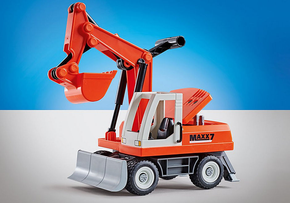 9800 Shovel Excavator with Clearing Blade detail image 1