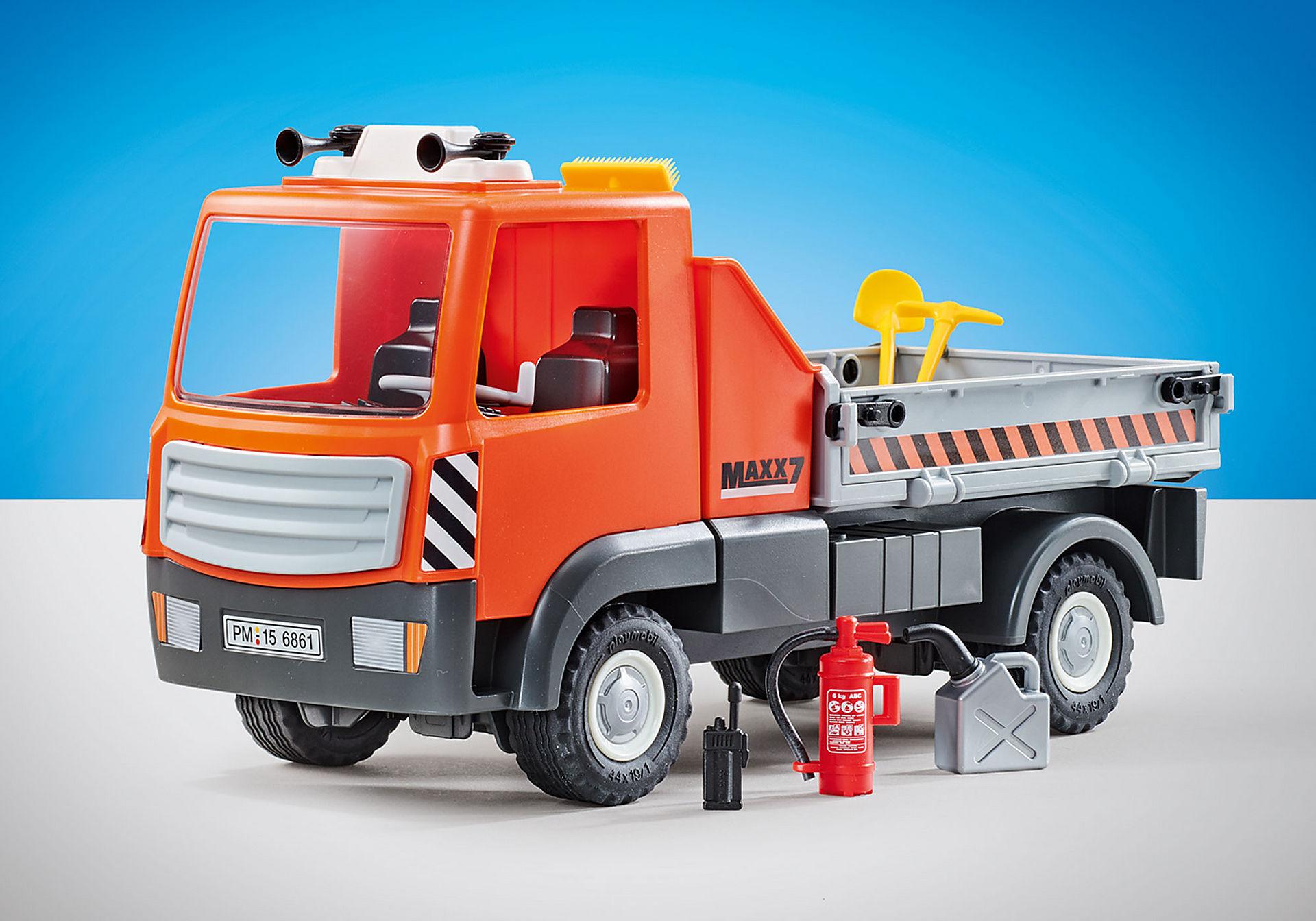 9801 Camion de chantier  zoom image1