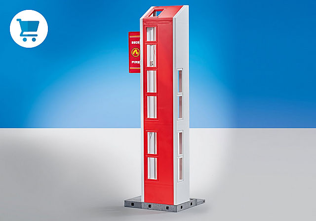 9802_product_detail/Hose Tower for Fire Station with Alarm (9462)
