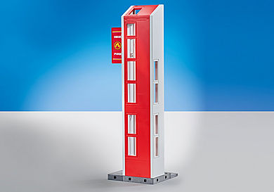 9802 Hose Tower for Fire Station with Alarm