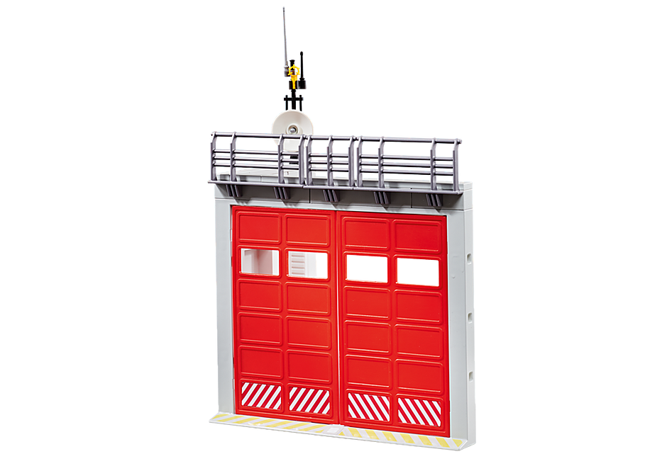 9803 Gate Extension for Fire Station with Alarm detail image 1