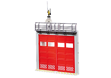 9803 Gate Extension for Fire Station with Alarm
