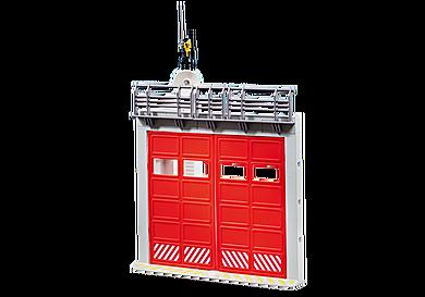 9803 Rozbudowa - brama dla straży pożarnej