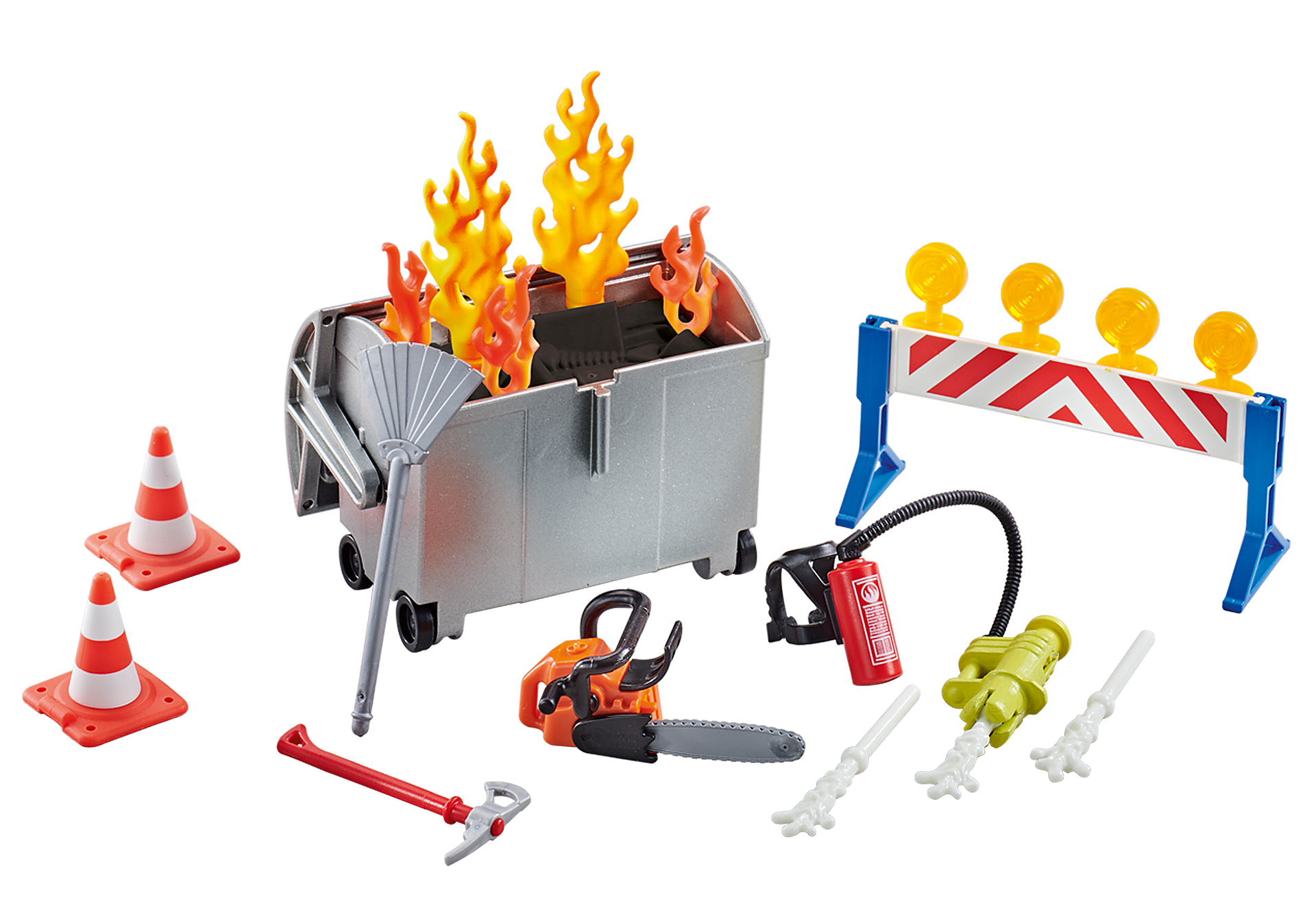 9804 Fire Brigade Accessories Set zoom image1